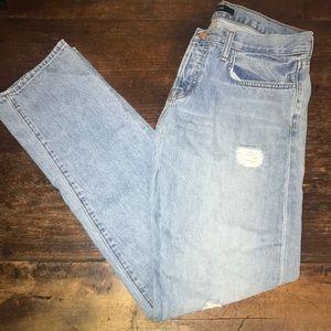 J brand boyfriend jeans size 25
